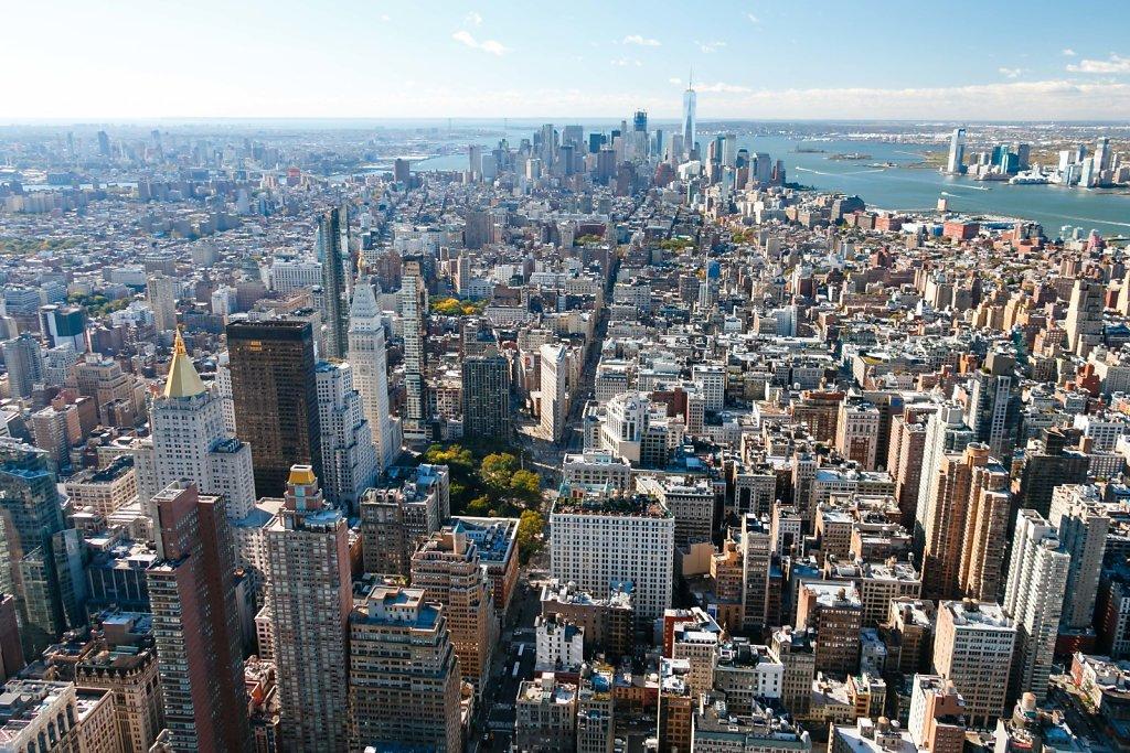 Manhattan Sud depuis l'ESB